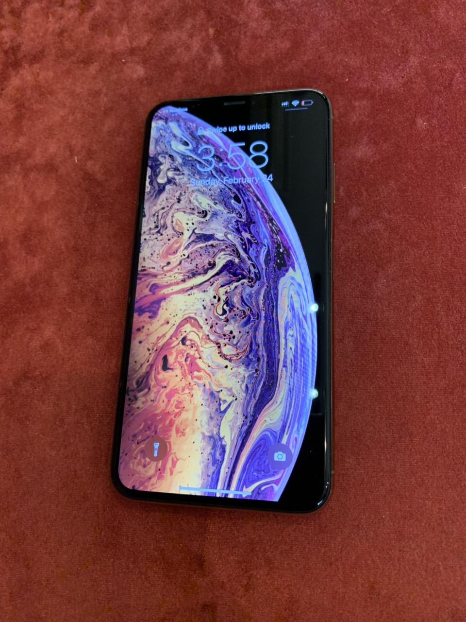 1 Bán iPhone Xmax 64G gold 2 sim vật lý