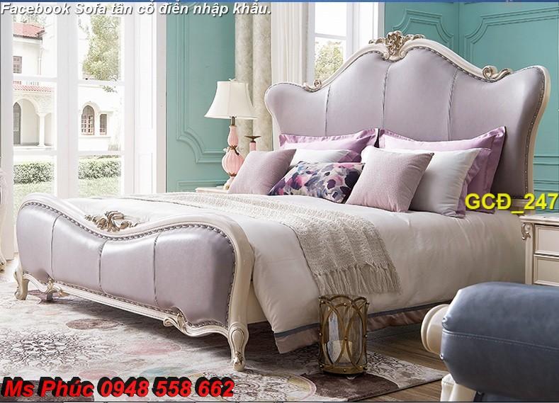 2 Báo giá tại xưởng bộ nội thất phòng ngủ tân cổ điển: giường ngủ, bàn phấn, tủ,.. phong cách châu âu