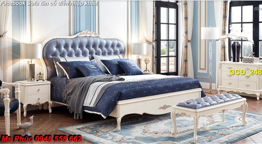 3 Báo giá tại xưởng bộ nội thất phòng ngủ tân cổ điển: giường ngủ, bàn phấn, tủ,.. phong cách châu âu