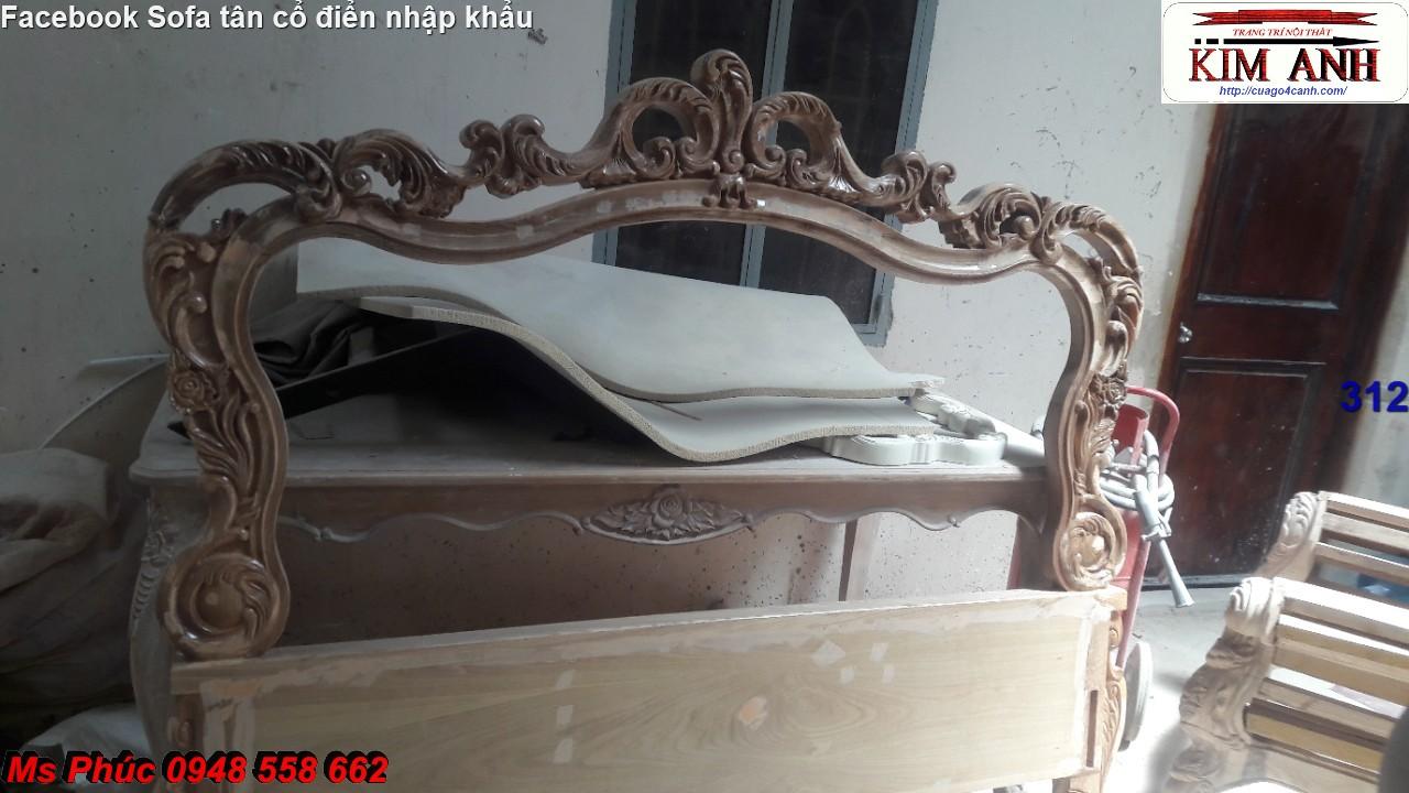 13 Báo giá tại xưởng bộ nội thất phòng ngủ tân cổ điển: giường ngủ, bàn phấn, tủ,.. phong cách châu âu