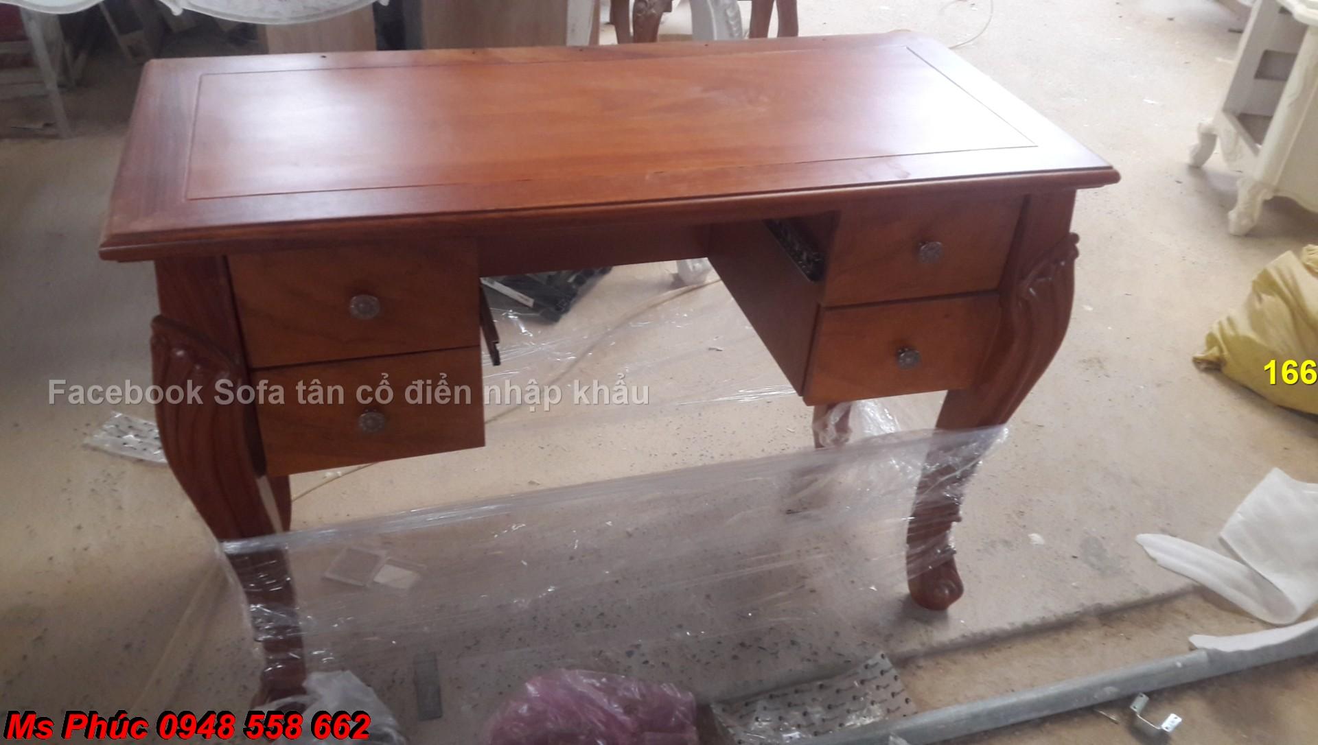 8 Xưởng chuyên đặt đóng bàn phấn trang điểm gỗ tự nhiên mẫu mã nhập khẩu cao cấp tại Đồng Nai