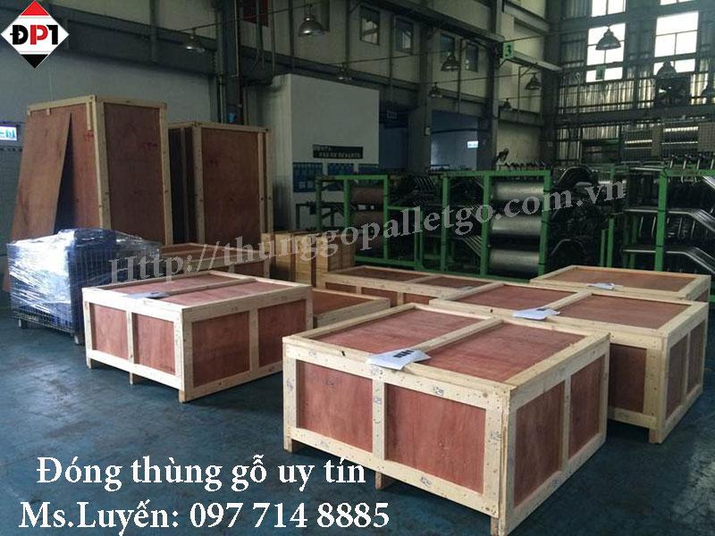 Dịch vụ đóng thùng gỗ tại KCN Khắc Niệm Bắc Ninh chất lượng cao