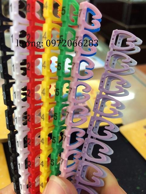 Đánh dấu dây mạng vỉ nhựa dùng cho cat6