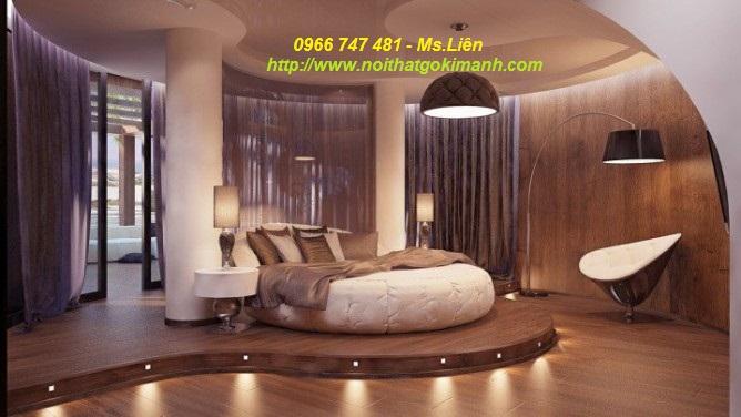 18 Nơi mua giường ngủ hình tròn sành điệu giá rẻ tại TP.HCM