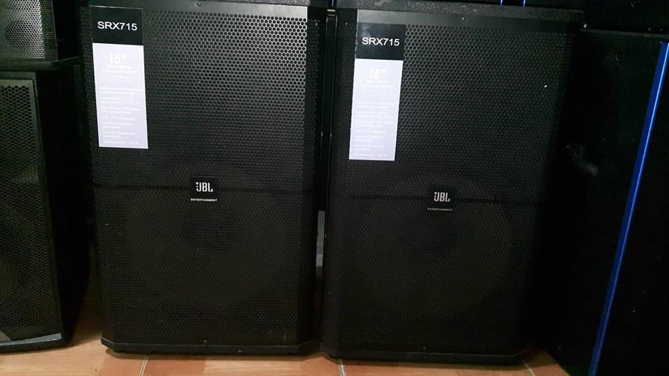 3 Loa chuyên nghiệp karaoke kinh doanh hàng bãi Mỹ nguyên bản: JBL KP6012 và JBL SRX715