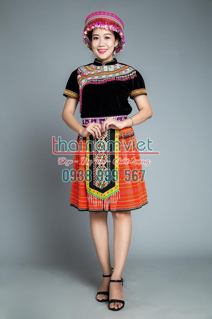 9 Bán trang phục dân tộc Mèo tây nguyên thái đủ loại