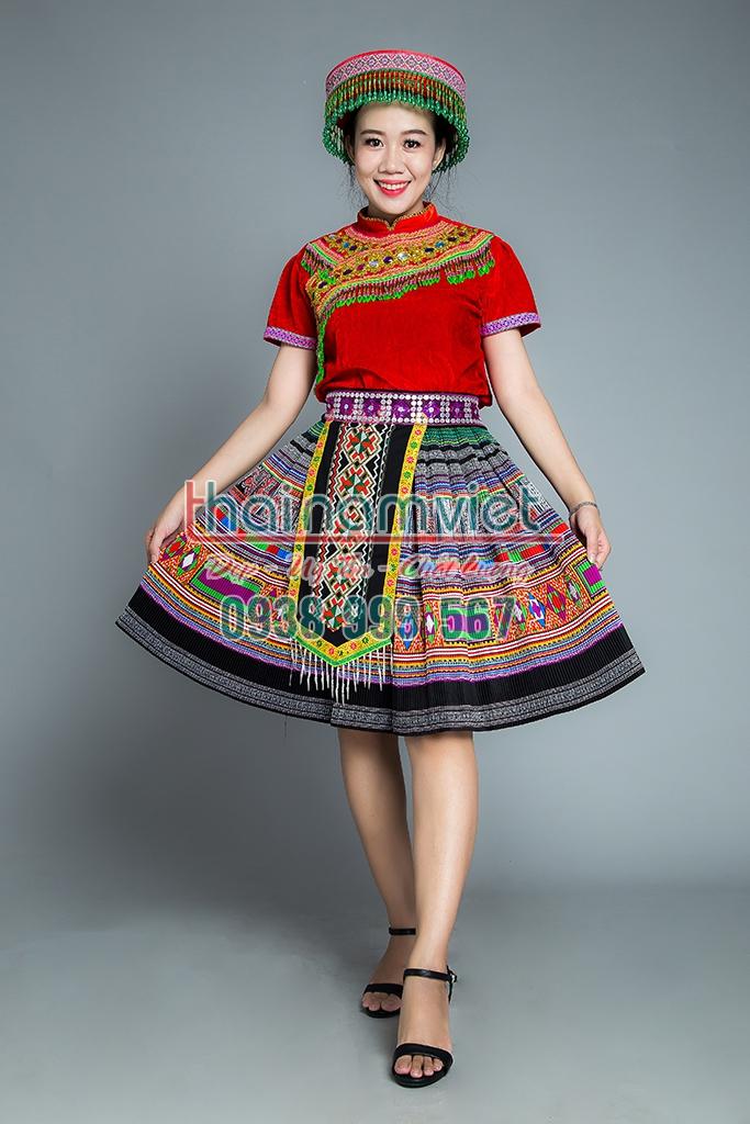 11 Bán trang phục dân tộc Mèo tây nguyên thái đủ loại