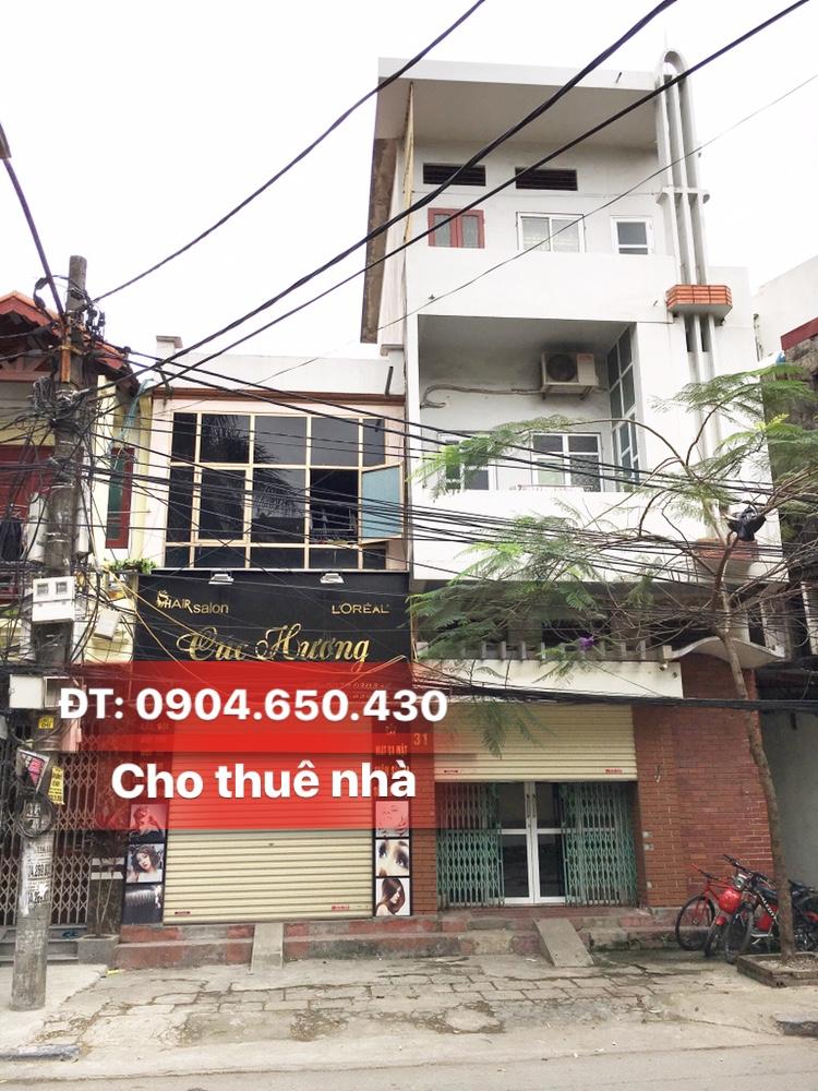 Cho thuê lâu dài tầng 1 nhà số 31 Máy Tơ, Ngô Quyền, Hải Phòng