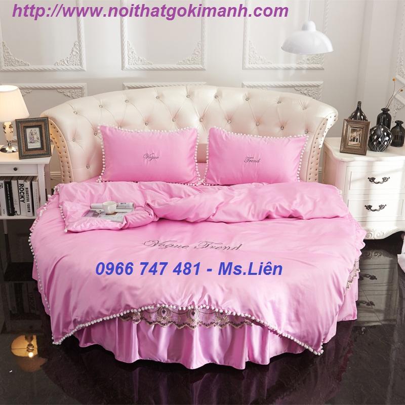 9 Giường tròn ấn tượng-Phong cách độc đáo cho phòng ngủ