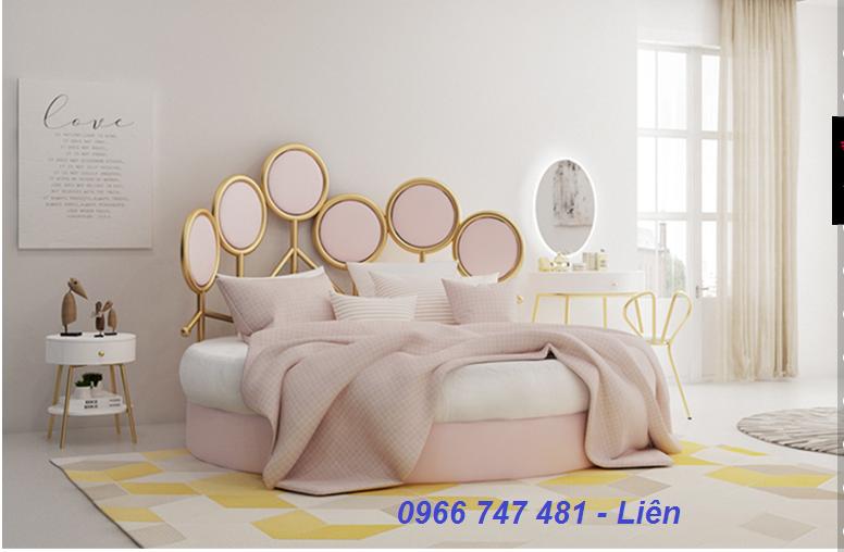 11 Giường tròn ấn tượng-Phong cách độc đáo cho phòng ngủ