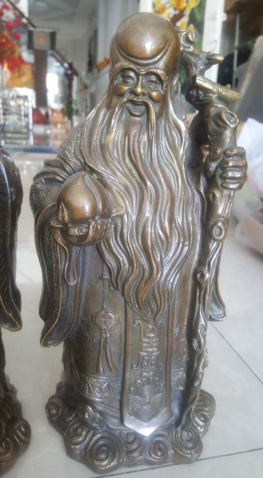 4 Tượng Phúc, Lộc, Thọ, hay còn gọi là 3 ông Tam Đa cao 34cm ngang16cm cân nặng 12kg