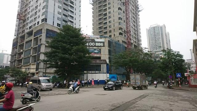 8 Bán chung cư khu Trung Hòa Nhân Chính, vị trí đẹp giá tốt nhất quận Thanh Xuân. 93m, 2,4 tỷ.