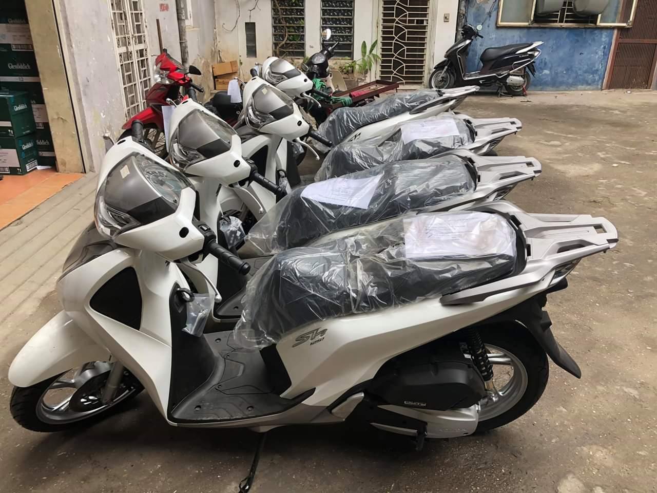 1 SH 150I Màu Trắng Đời 2019 Phanh ABS Mới 100 Xe Nhập Khẩu Trốn Thuế