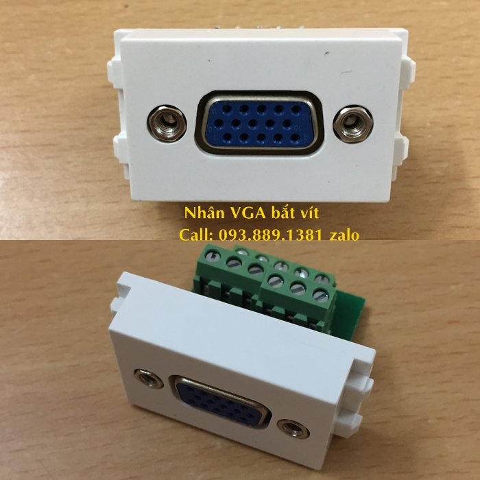 8 Wallpate âm tường HDMI, VGA, USB, Audio. Cung cấp nhân HDMI, nhân VGA, nhân sạc USB, nhân Audio