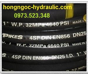 16 Đầu cút nối thủy lực, dây tuy ô thủy lực, máy ép tuy ô, máy ép DX68, DX69, SP52