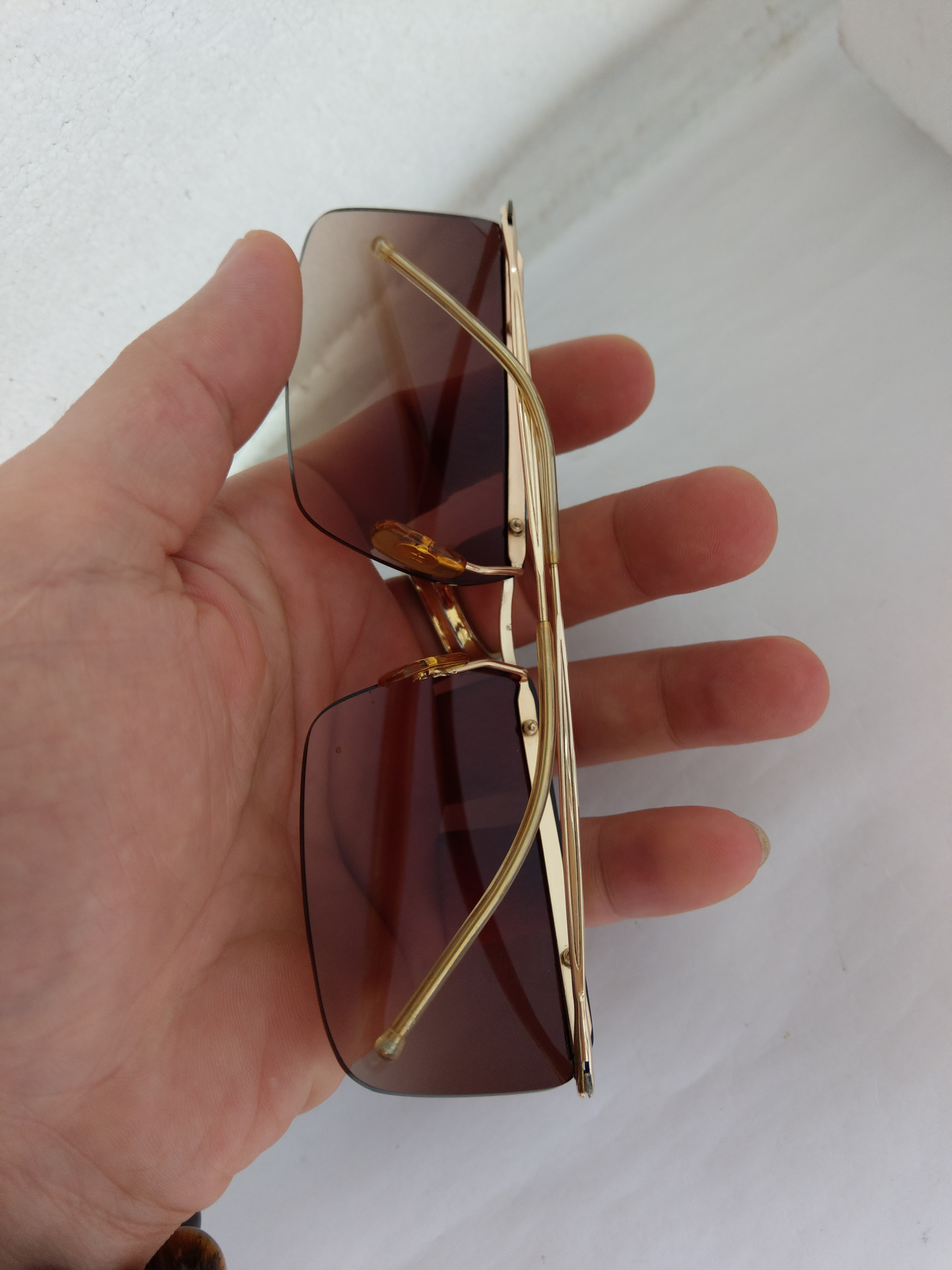 8 Kính Amor chuôi chuông Gold Filled - Made in France. Size:  140