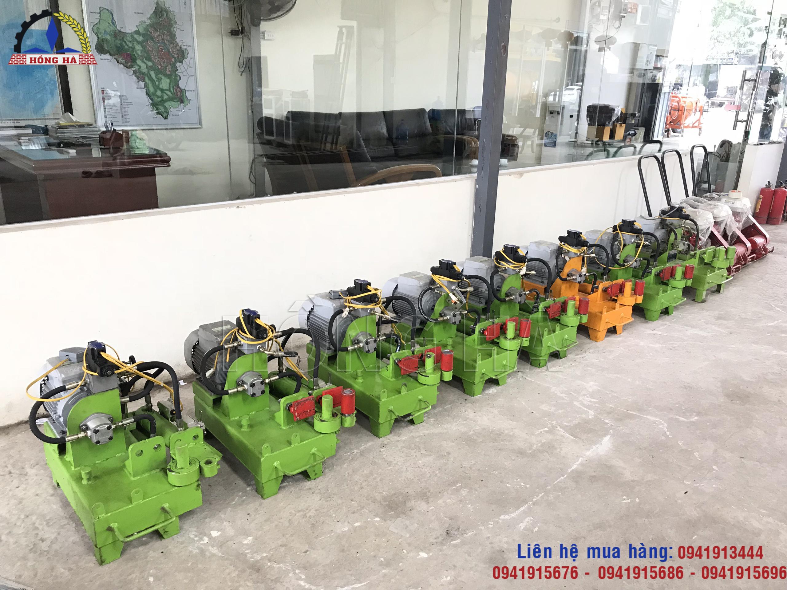 4 Mua máy bẻ đai thủy lực tại Hồng Hà