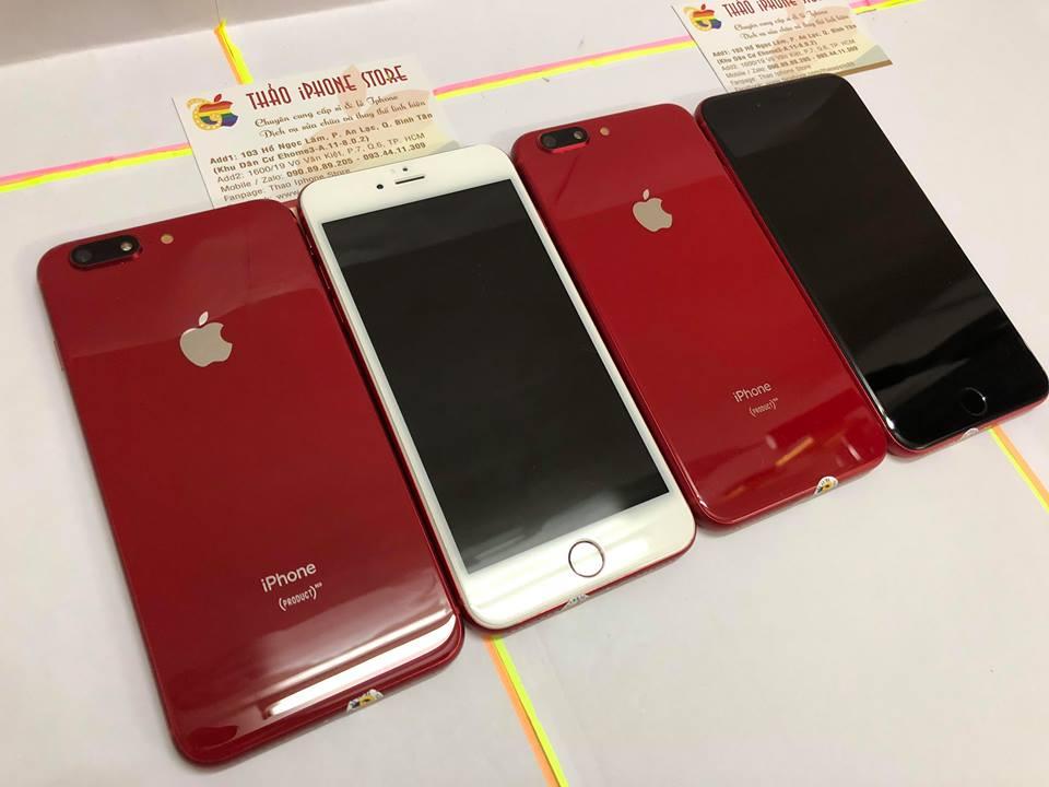 5Triệu400☆Iphone 6S Plus-32/64G-QTẾ-Lên Vỏ iPhone 8Plus.Màu Đỏ.Full tính năng