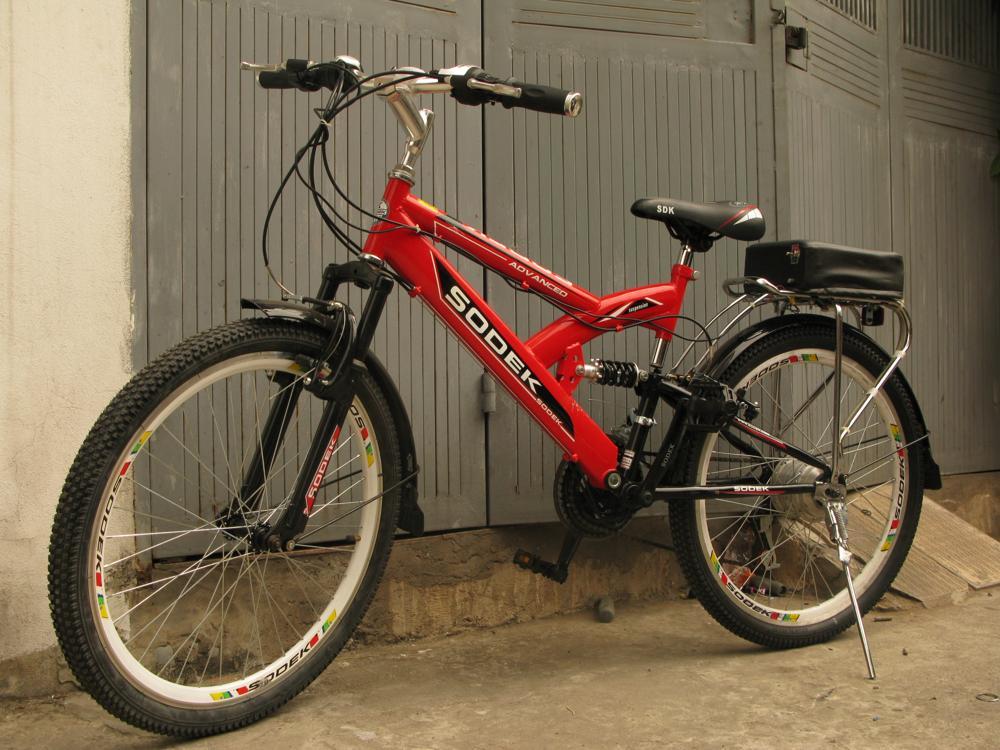 2 Bộ chế xe đạp thường thành xe đạp điện
