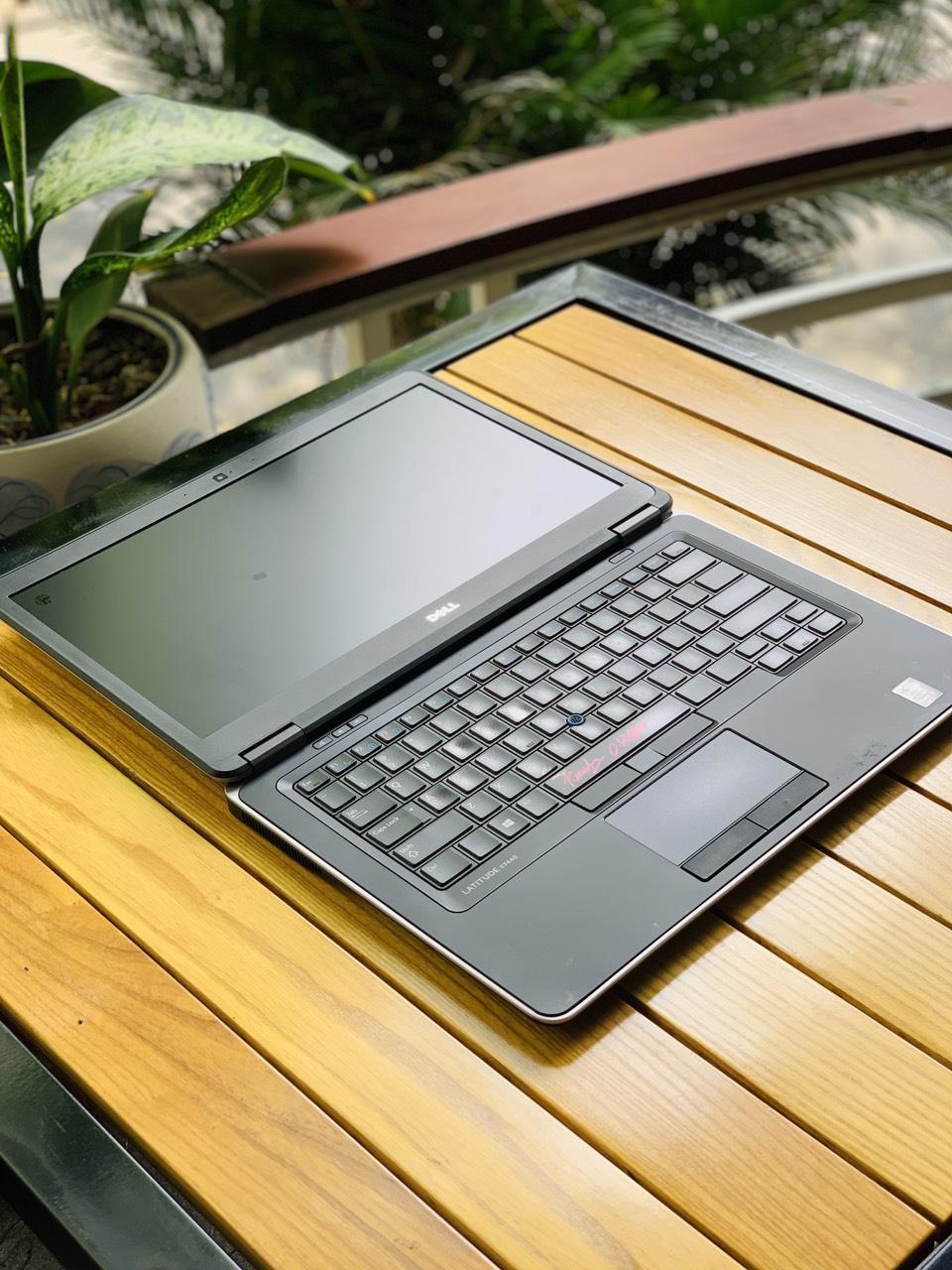 1 Dell latitude E7440 Core I5-4310U Ram 8G, Ssd 256GB, MH Full HD 14 inch, Zin 100 siêu bền mỏng đẹp