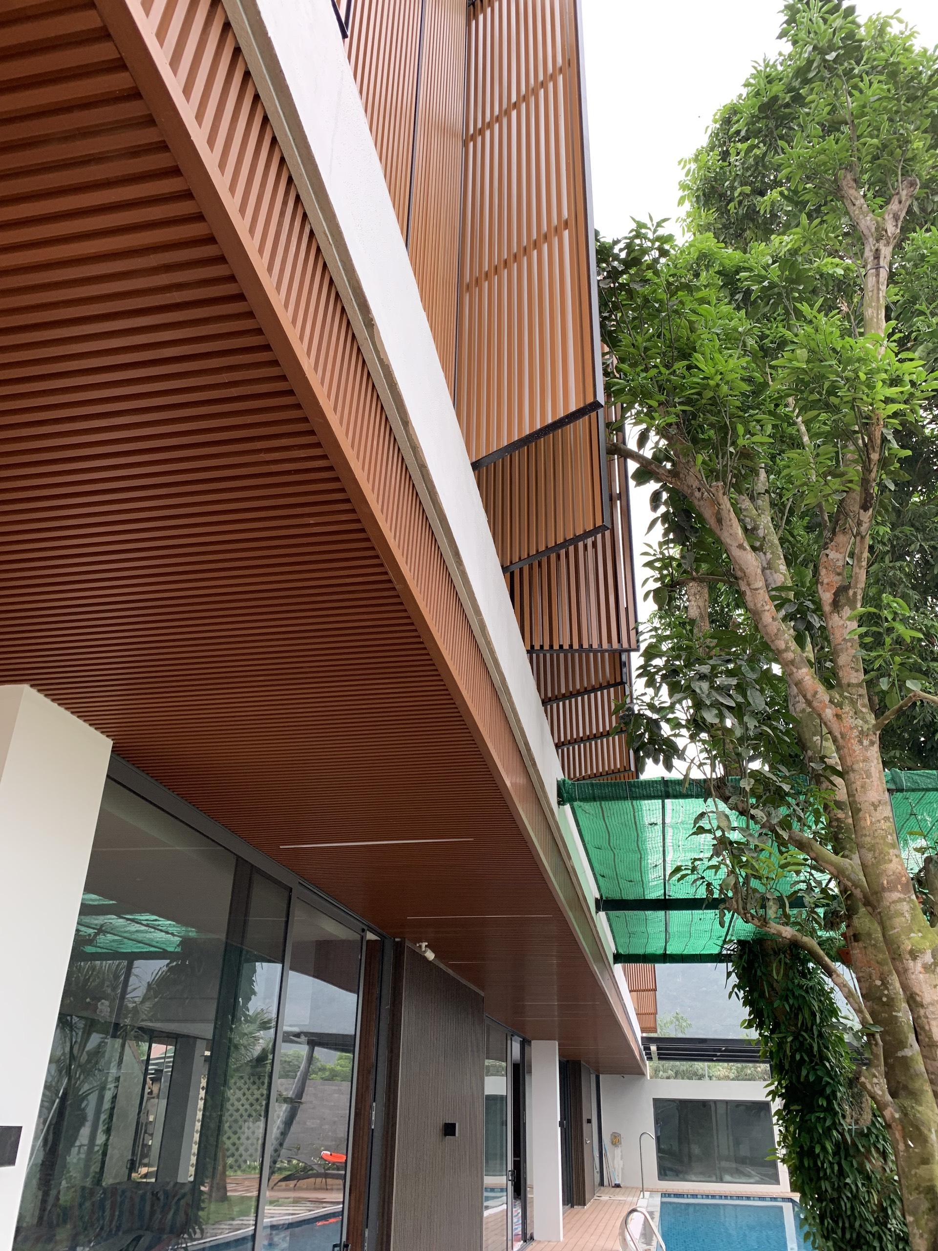 Gỗ nhựa Composite cho trang trí nội ngoại thất