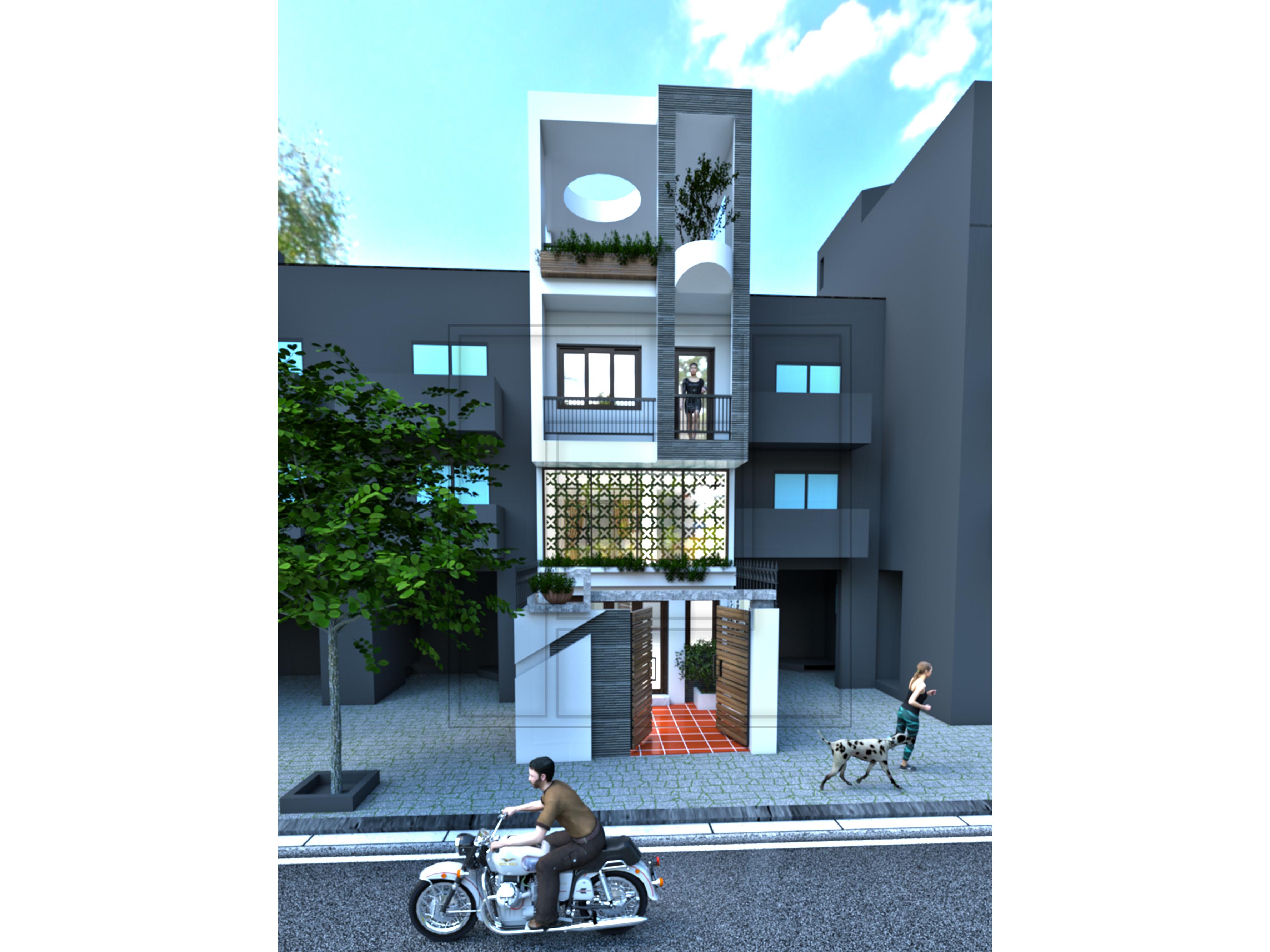 3 Thiết kế thi công xây dựng trọn gói nhà phố Hà Nội