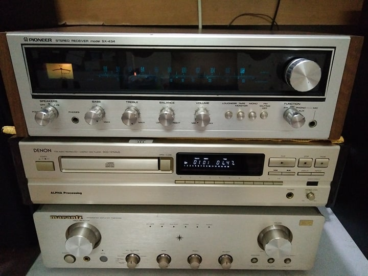 Amly Receiver Pioneer SX 434 đẹp lung linh