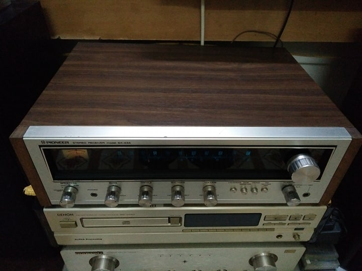 1 Amly Receiver Pioneer SX 434 đẹp lung linh