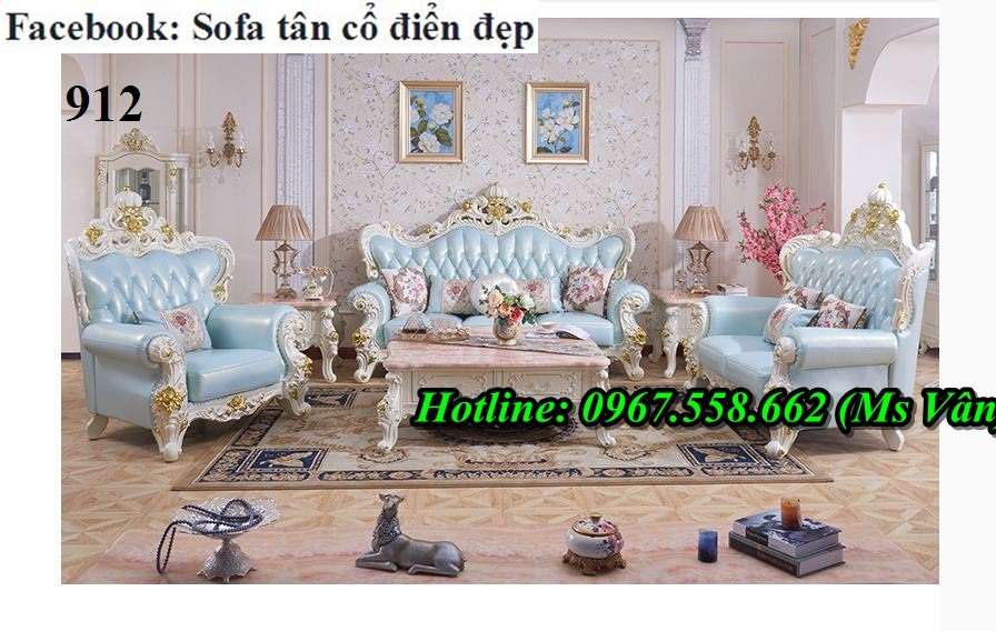 4 Xưởng sản xuất bàn ghế sofa phong cách tân cổ điển uy tín chất lượng