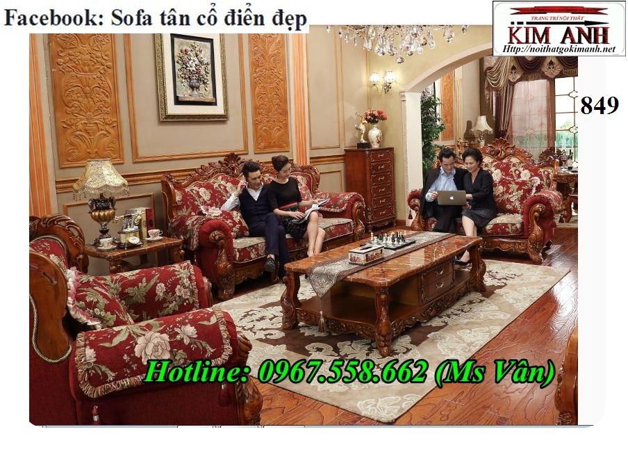 16 Xưởng sản xuất bàn ghế sofa phong cách tân cổ điển uy tín chất lượng