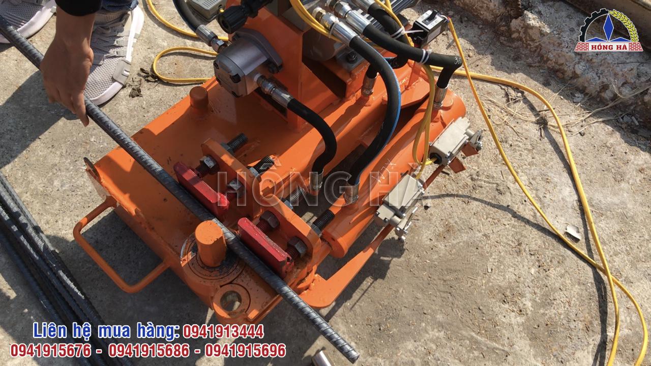5 Cách sử dụng máy bẻ mỏ sắt cây Hồng Hà