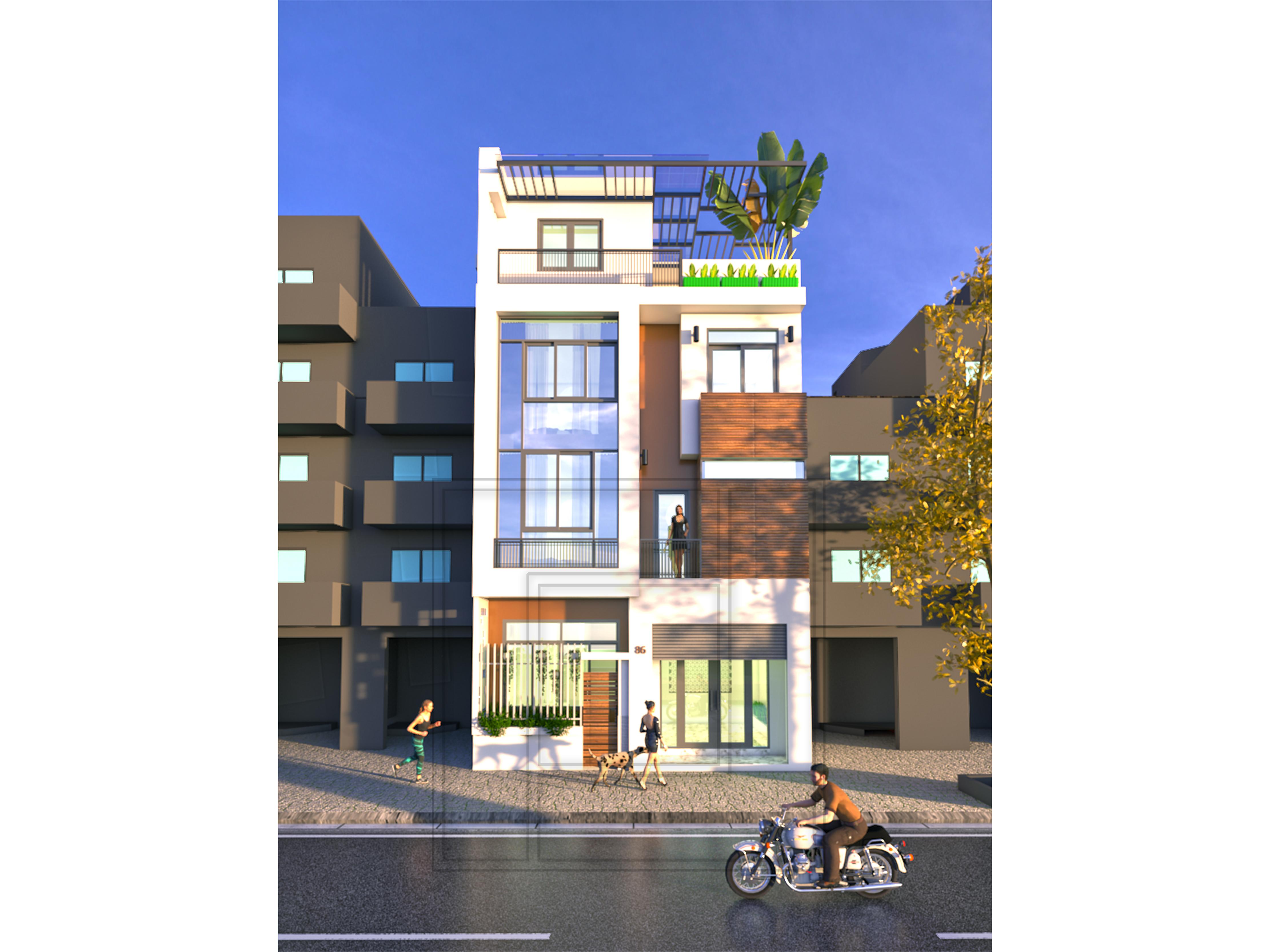 6 Thiết kế kiến trúc và thi công xây dựng nhà phố chuyên nghiệp