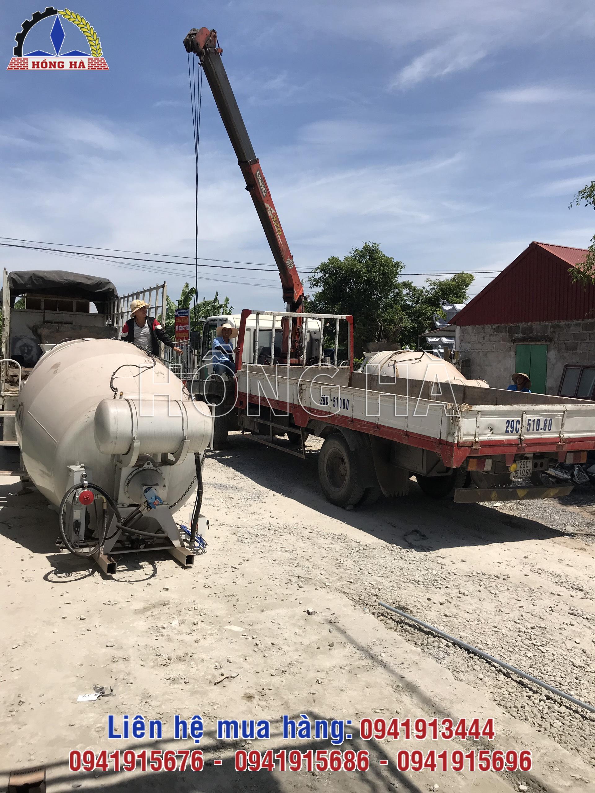 5 Hiệu năng sử dụng của bồn trộn bê tông thủy lực