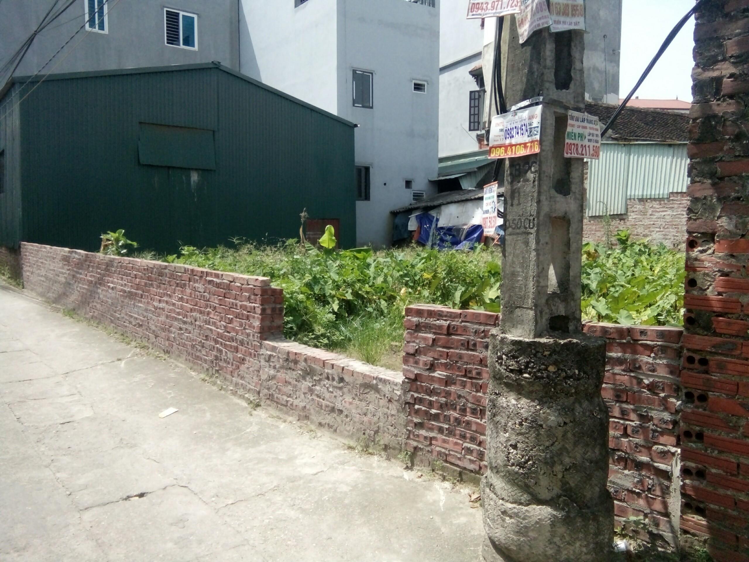 2 Bán 139m giá rẻ,đất ở Bắc Hồng- Đông Anh Hà Nội.