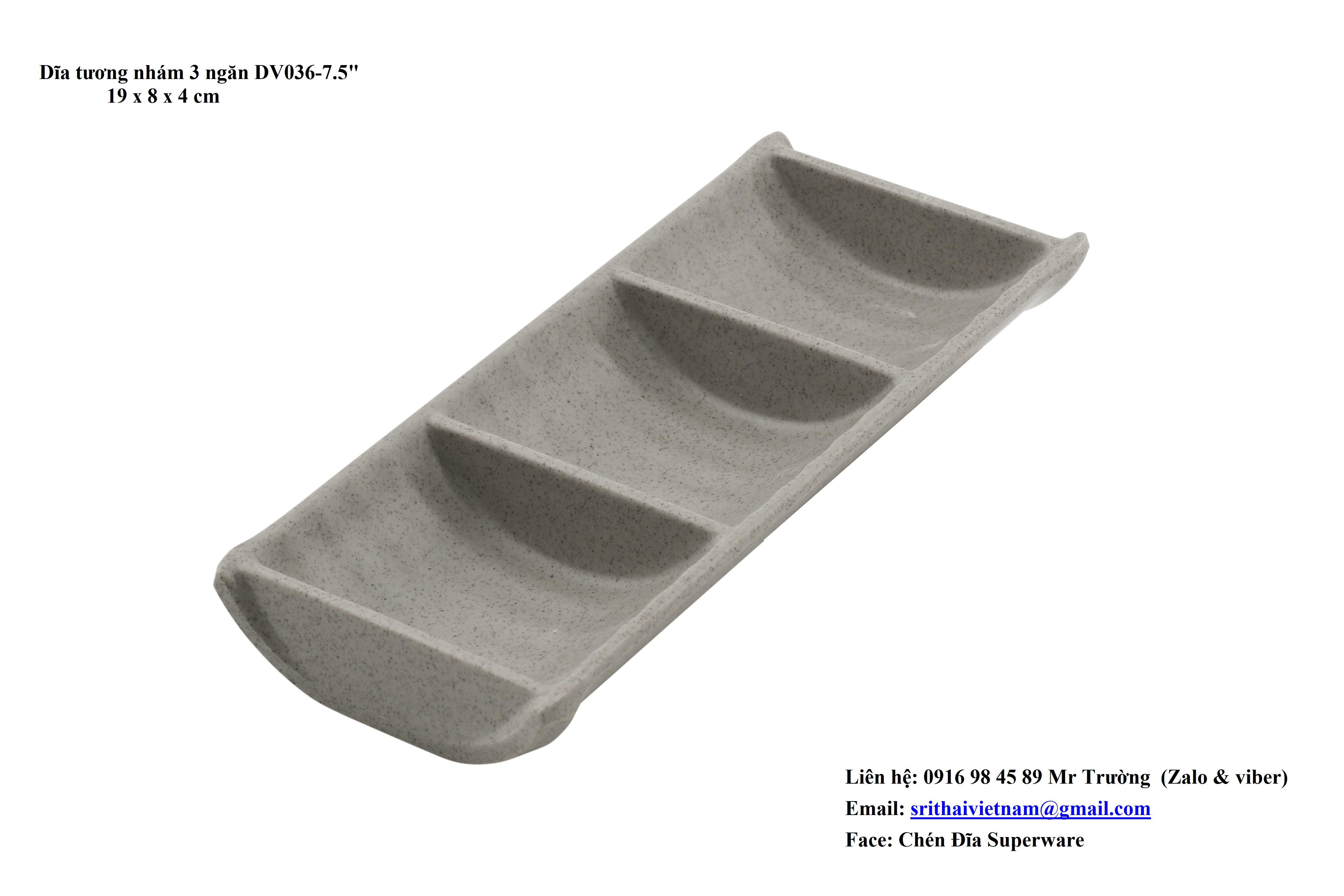 Bộ chén dĩa nhựa LIGHT BROWN giá rẻ nhất thị trường. - 13