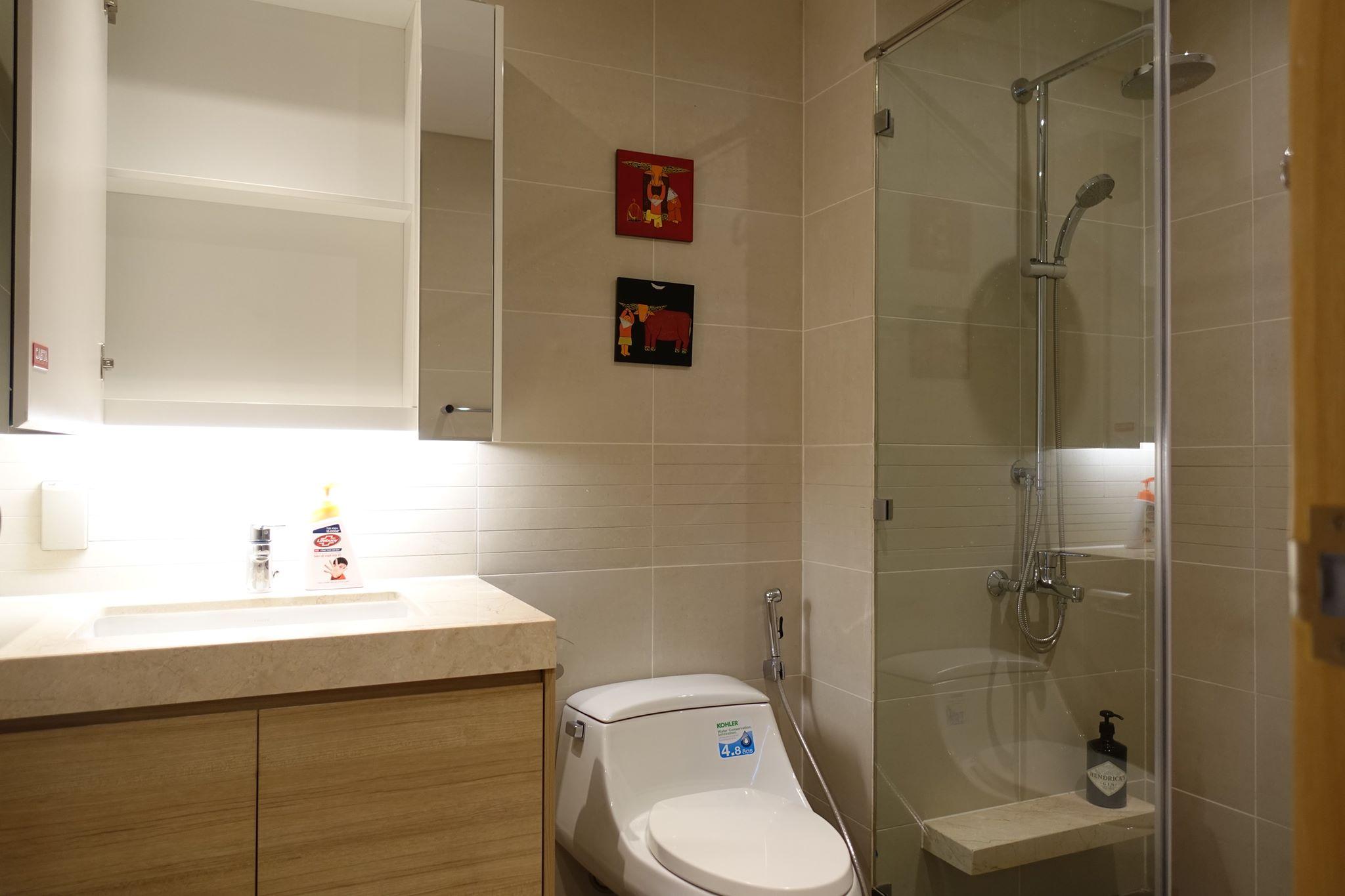 5 Cho thuê căn hộ tại Khu Đô Thị Sala - 82.5,2 - 2 phòng ngủ, 2 WC