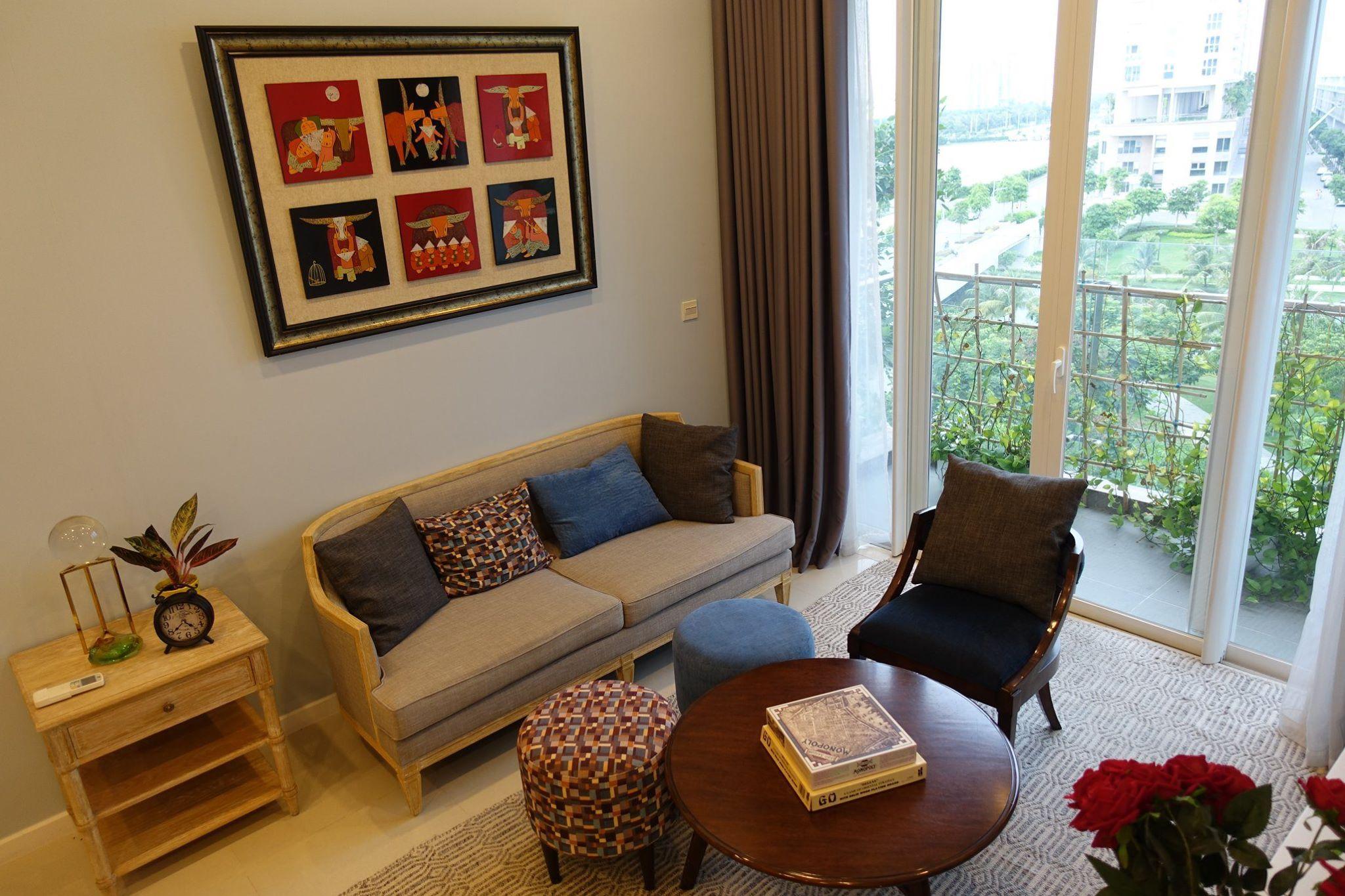 9 Cho thuê căn hộ tại Khu Đô Thị Sala - 82.5,2 - 2 phòng ngủ, 2 WC