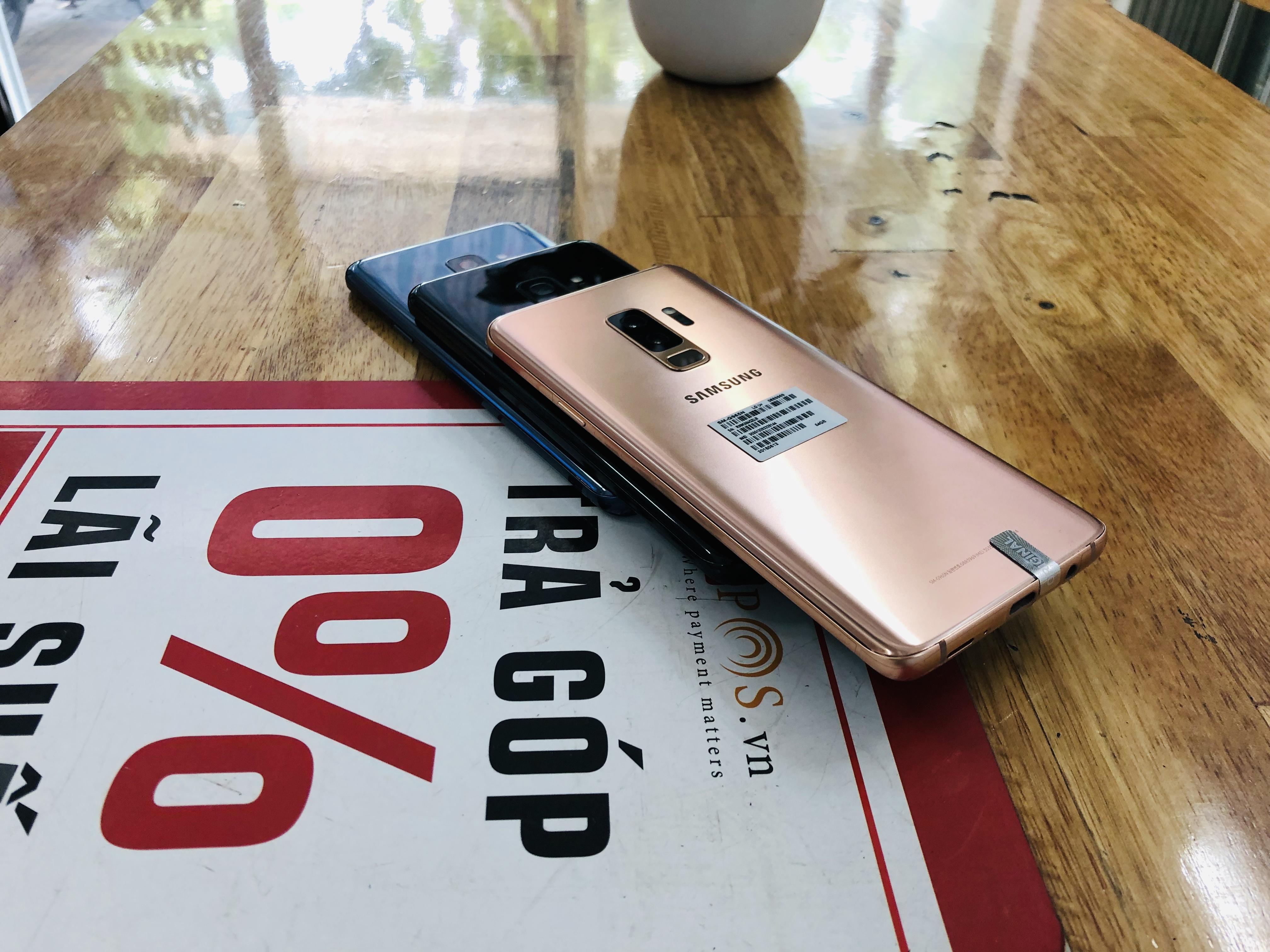 4 Samsung S9 Plus 2 Sim Quốc Tế  99 2C Mobile
