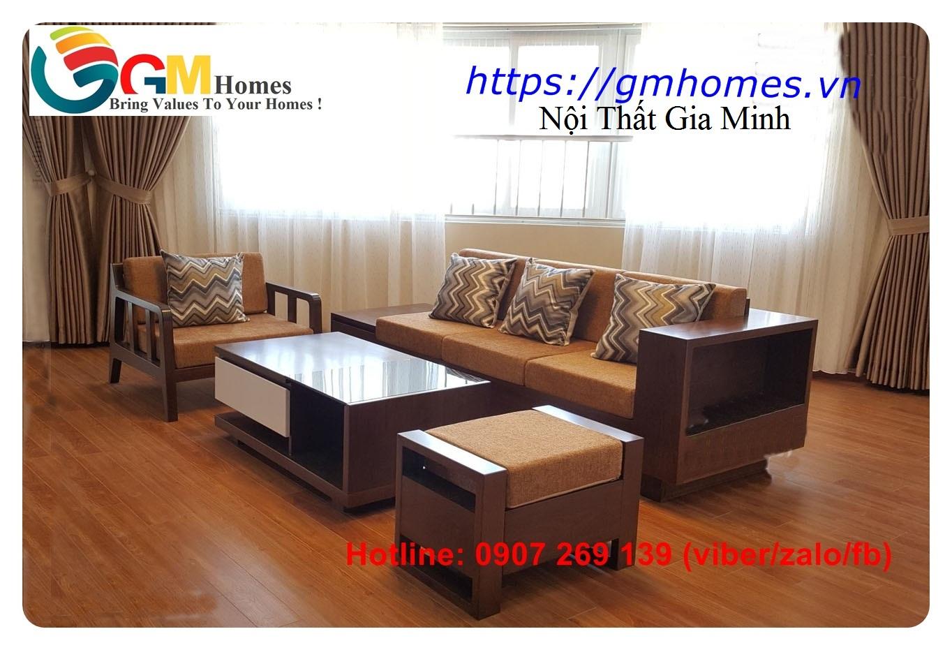 7 Sofa gỗ cao cấp   mẫu bàn ghế sofa gỗ đẹp