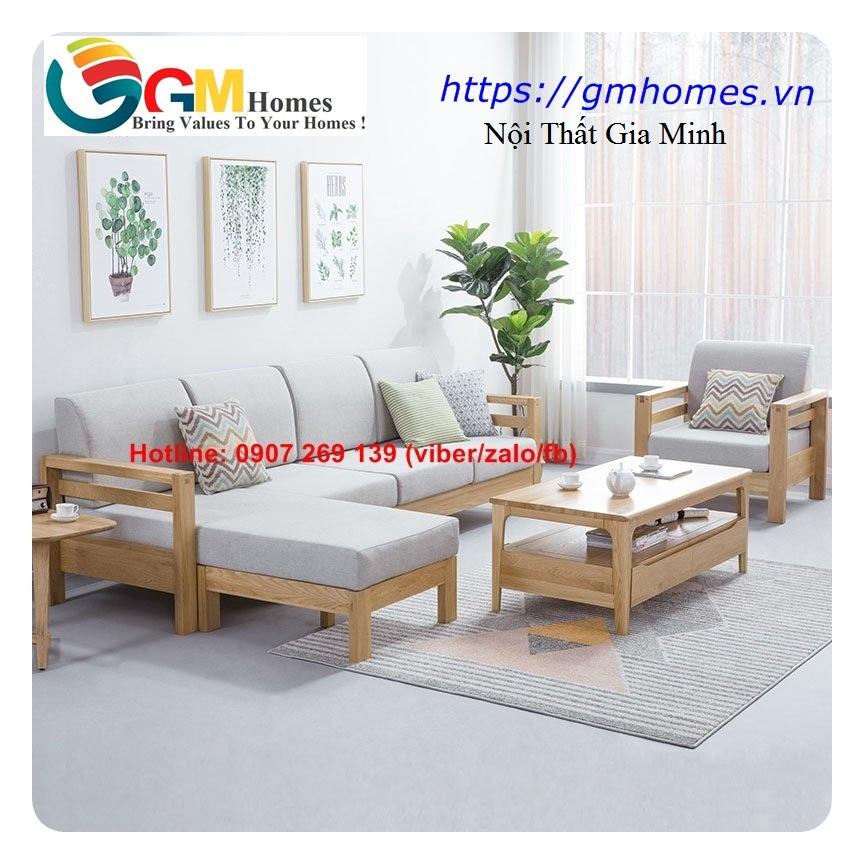 8 Sofa gỗ cao cấp   mẫu bàn ghế sofa gỗ đẹp