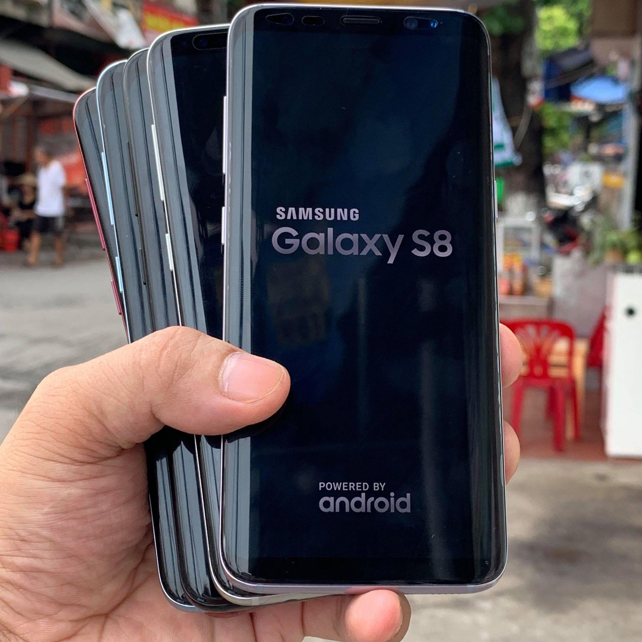 Samsung galaxy S8   2 sim  giá tốt nhất Hải Phòng : Đủ màu sắc thoải mái chọn tại Minmobile