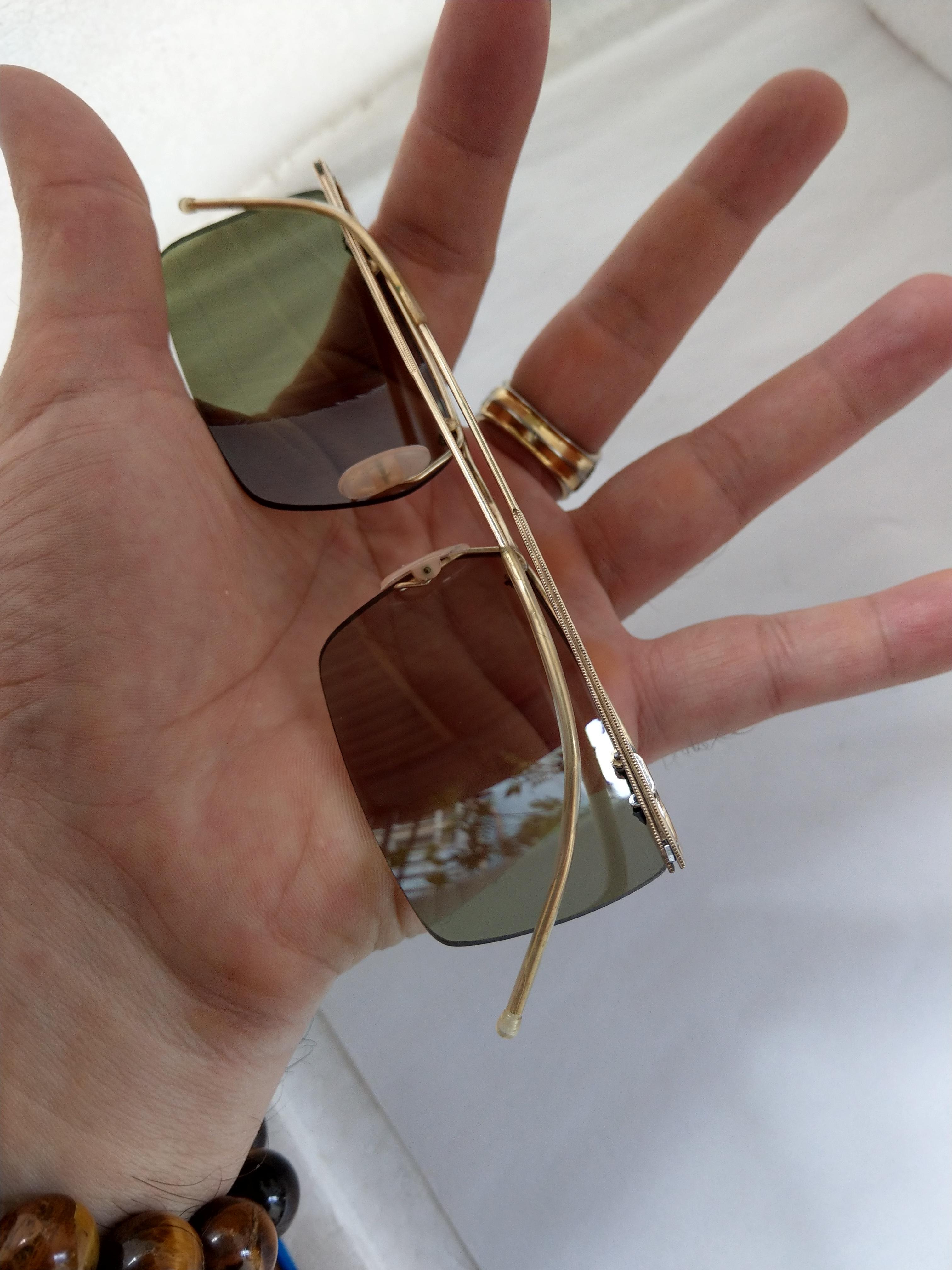 14 Kính Amor sao cánh nhạn của Pháp bọc vàng nguyên bản siêu nhẹ