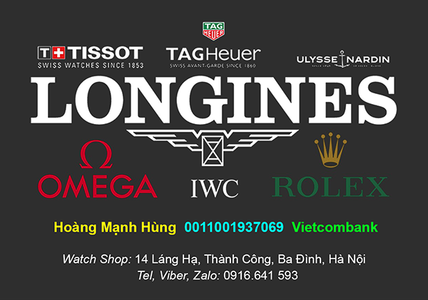 Shop hàng xách tay Rolex Malaysia, Omega, Longines, Frederique Constant giảm còn 375USD