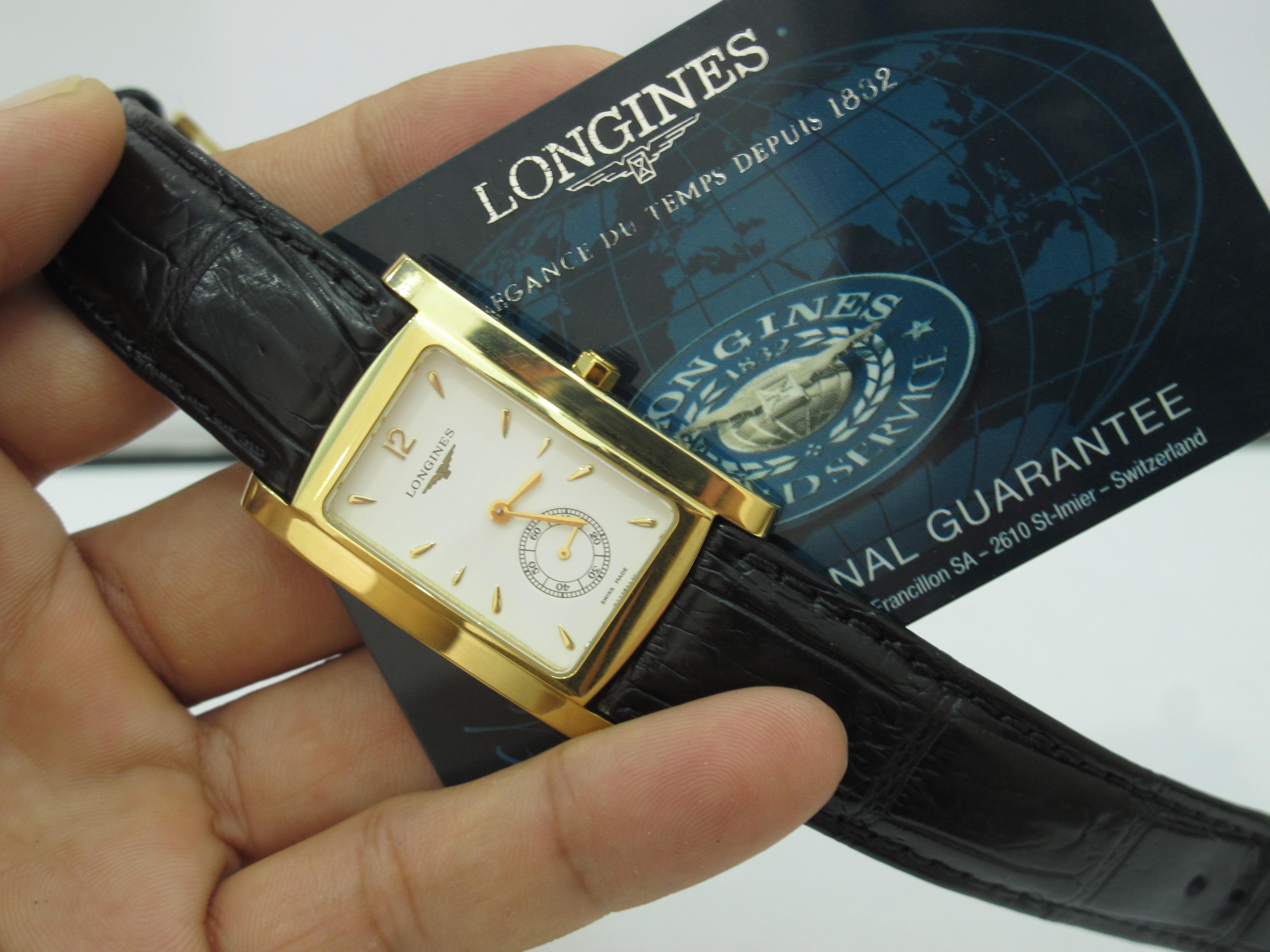Đồng hồ Longines L5.655.6 Vàng đúc 18K Nguyên khối fullbox hộp, thẻ