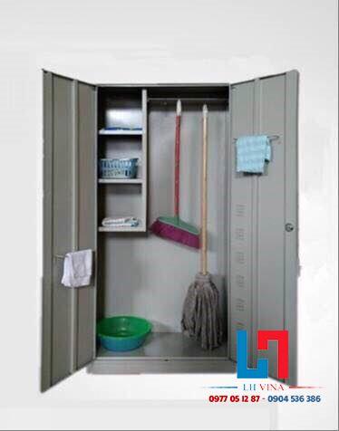 Tủ sắt đựng dụng cụ vệ sinh giá rẻ TDC02