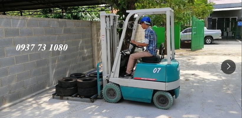 Dạy lái xe nâng hàng tại Khu Cồng Nghiệp Long Thành Đồng Nai