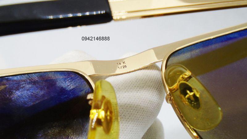 6 Solex Đòn ghánh 501 mạ vàng  14K 1/25