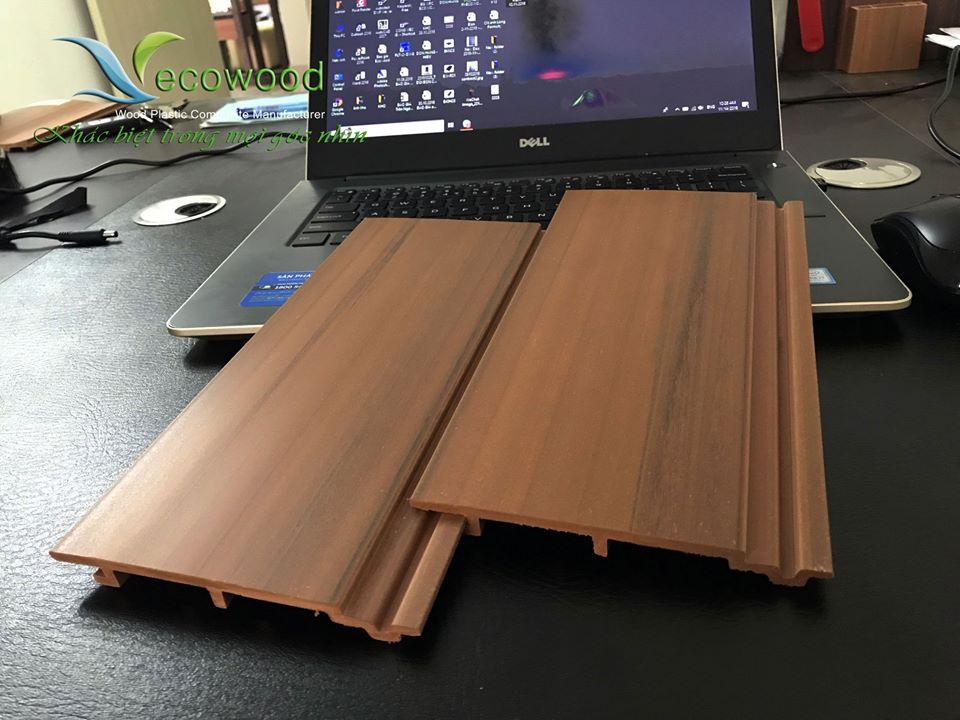2 Tấm ốp gỗ nhựa ecowood dạng phẳng mã WPO-125
