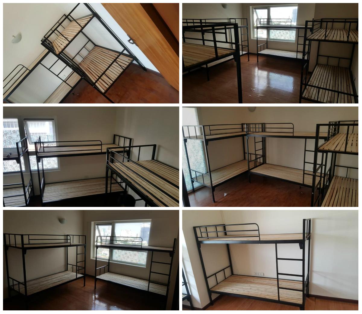 4 Chuyên sản xuất và cung cấp giường tầng sắt, inox giá rẻ