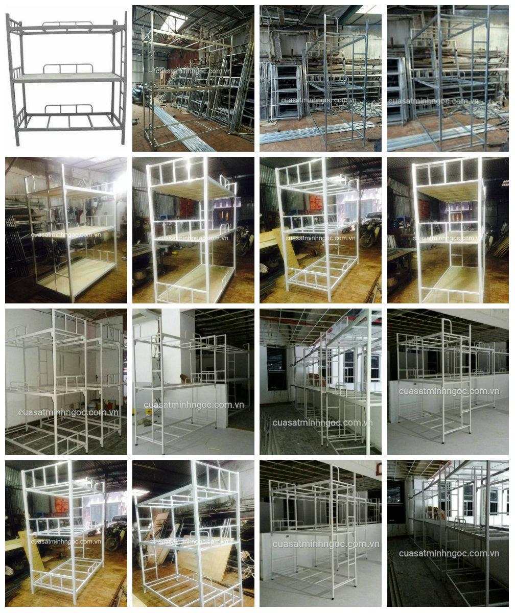 9 Chuyên sản xuất và cung cấp giường tầng sắt, inox giá rẻ